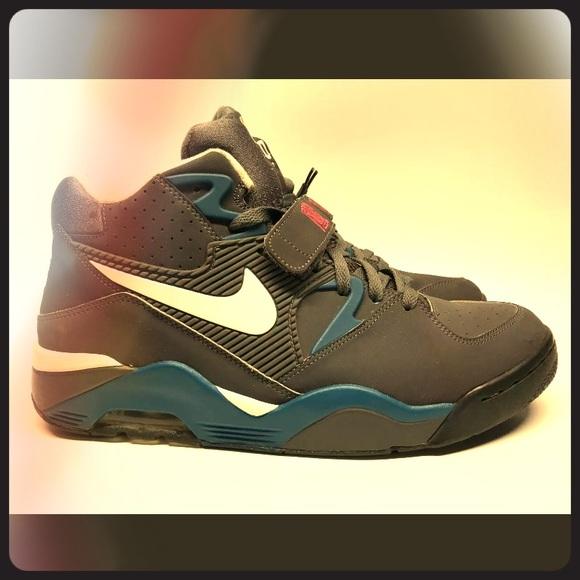 Nike Air Force 180 blue & grey